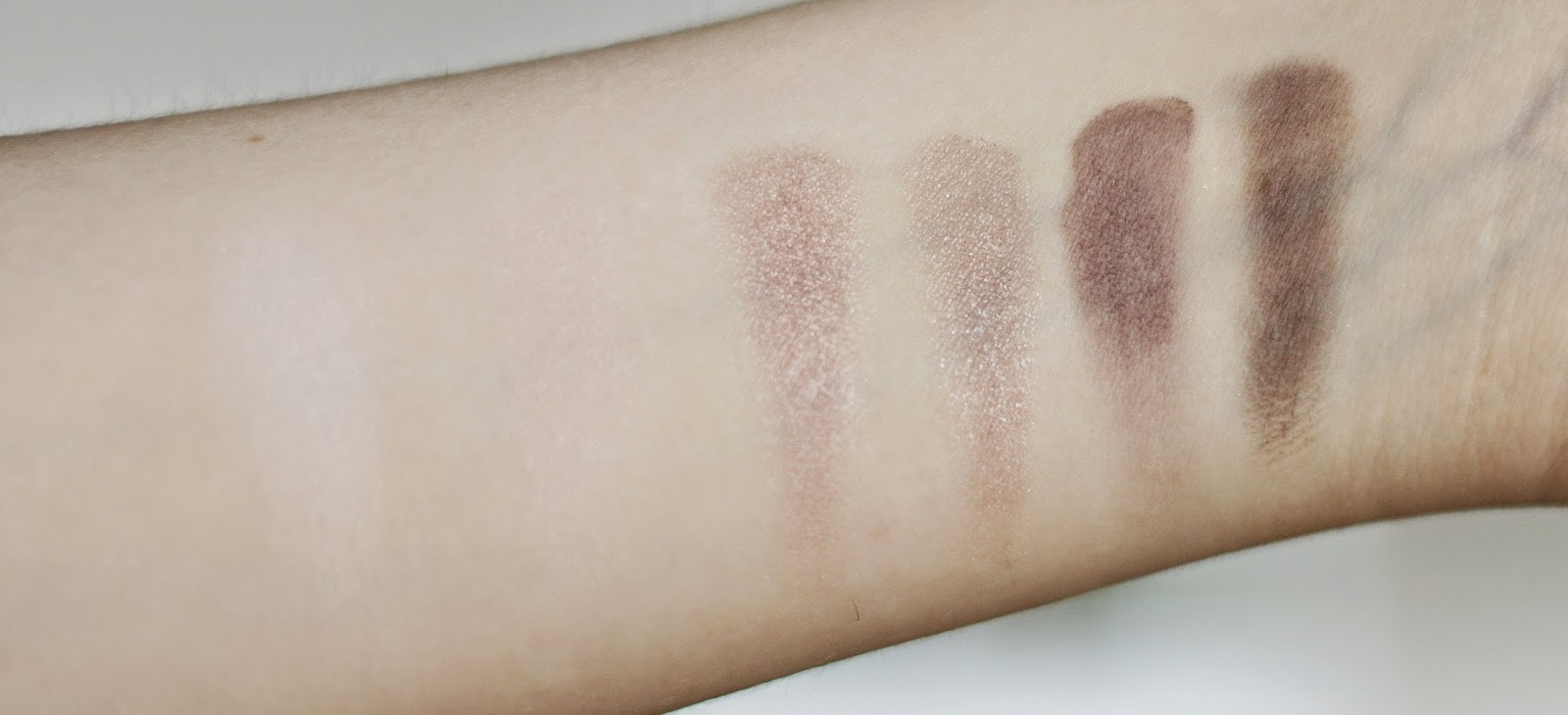 review swatches catrice absolute rose palette