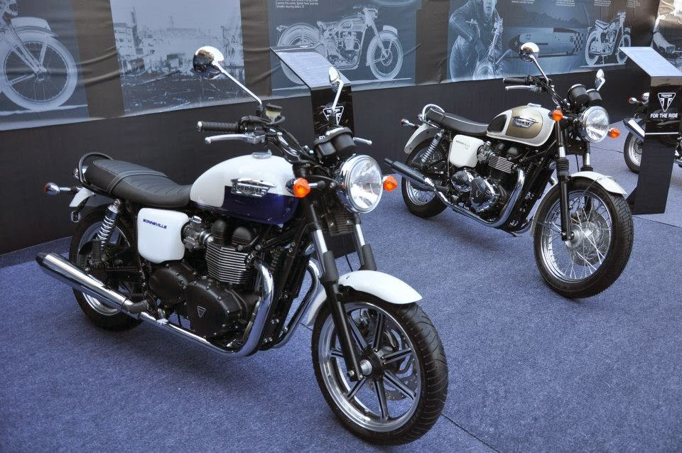 Triumph Motorcycles India | Triumph Motorcycles Launched in India | Triumph India | Triumph Bonneville | Triumph Bonneville T100 | Triumph Thruxton | Triumph Street Triple | Triumph Daytona 675R | Triumph Daytona 675R | Triumph Tiger Explorer | Triumph Thunderbird Storm | Triumph Rocket III Roadster