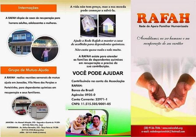 Rede RAFAH - Rede de Apoio Familiar Humanizado