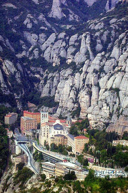 Montserrat, Catalonia-near Barcelona-Spain
