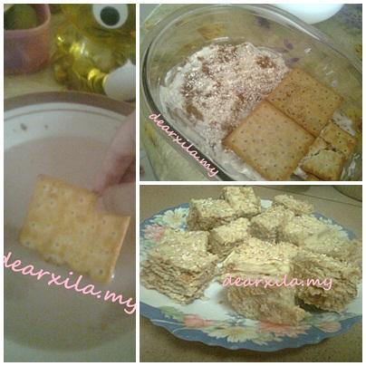 recipe, resipi cheesekut, cheesekut oat tabur, food, cara buat cheesekut, bahan-bahan resipi cheesekut, cheesekut, cheese biskut, kurma