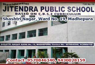 Ad. (Jitendra Public School)