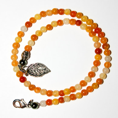 Double Bracelet with Leaf
