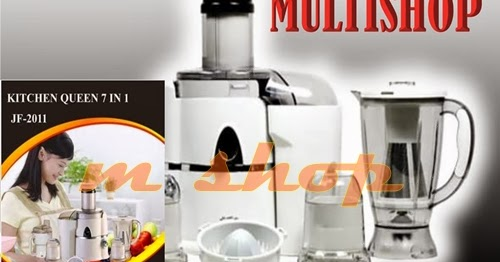 JUAL HARGA GROSIR GRAND POWER JUICER 7 IN 1 KITCHEN QUEEN