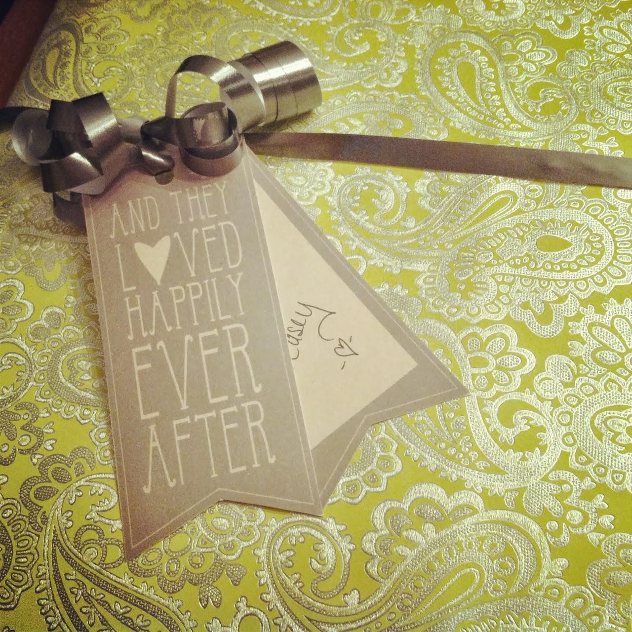 Wedding Gift Tags : Wedding Gift Tags - Printable Template Wherever Life Takes Us