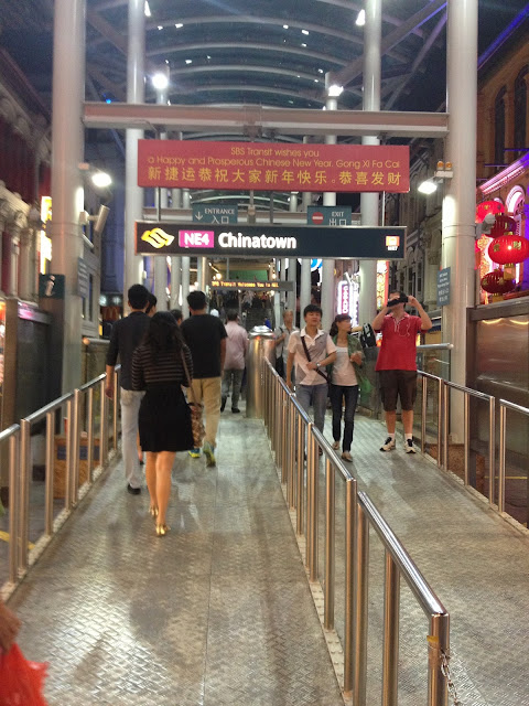 Chinatown Station, Singapore