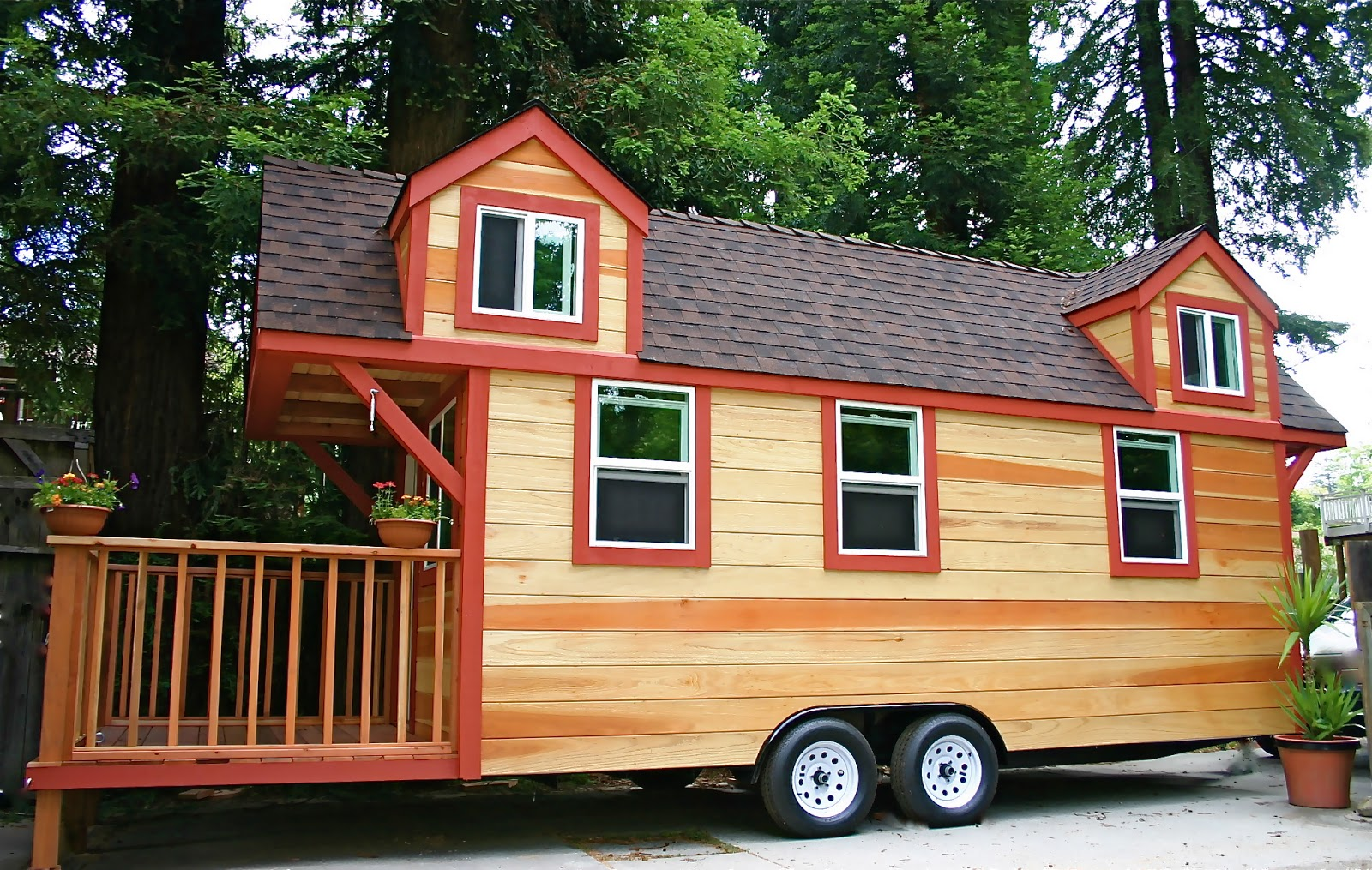 Tiny houses on trailers for sale - Latest Small Houses Off The Grid The Tiny Life