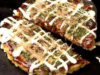 Tokyo Room Finder Blog: Japanese pizza ?! No, okonomiyaki !