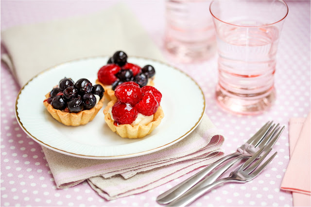 Mini Berry Tartlets Better Baking with Dr. Oetker