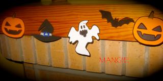 Detalle guirnalda Halloween