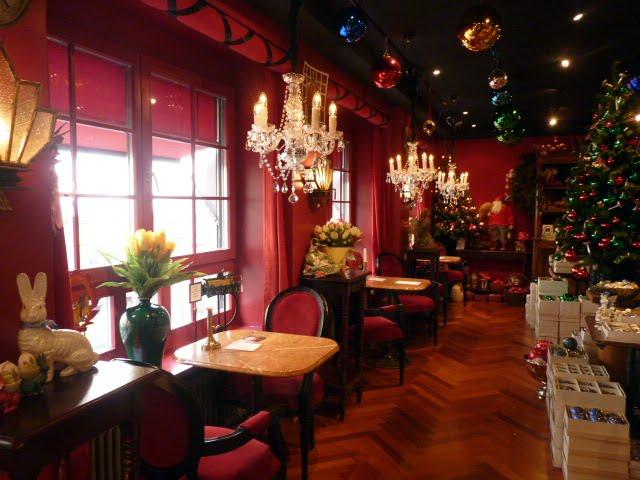 Cafetería Tienda de la Navidad Basilea