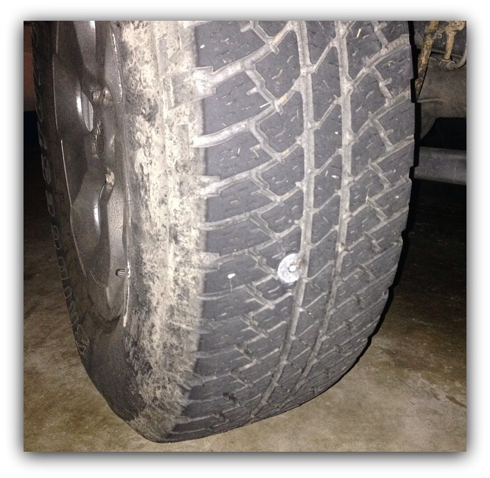 Jeep Momma - Blog: Damaged Tire -- Do I switch it out?