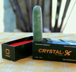 crystal x mencegah keputihan aman dipakai