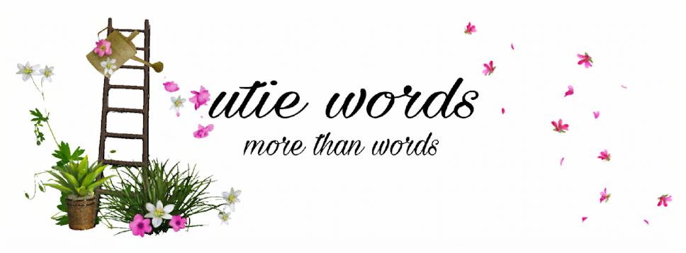 utie  words