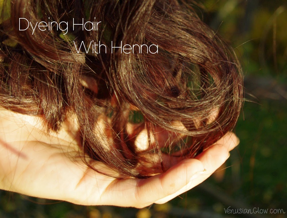 Using Henna On Half Natural And Half Lightened Hair