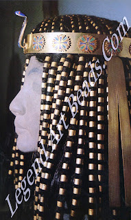 Wig ornaments and crown of Princess Sit-Hathor-Yunet, from lahun