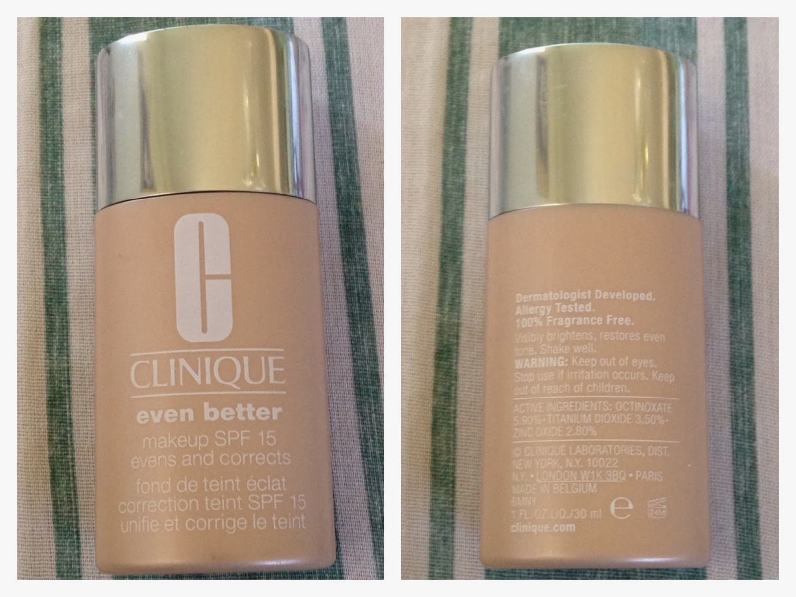 Clinique even better makeup foundation review swatches before - Description Wear Even Better Makeup Spf 15 And Something Amazing Happens Without Any Makeup See Improved Clarity A More Even Skin Tone