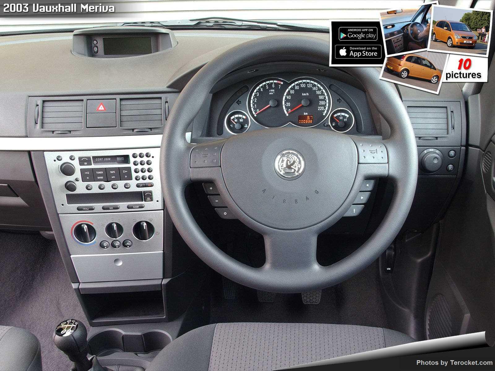 Hình ảnh xe ô tô Vauxhall Meriva 2003 & nội ngoại thất