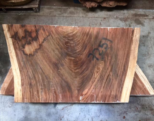 sweetlooking unique cutting boards. Parota crotch slabs  Tropical Exotic Hardwoods November 2015