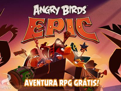 Baixar Angry Birds Epic v1.5.3 Mod Apk+Data