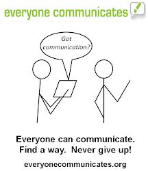 Everyone Communicates - Got Communication? graphic