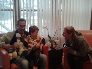 Fun with Uncle Scott & Aunt Samantha in March 2013