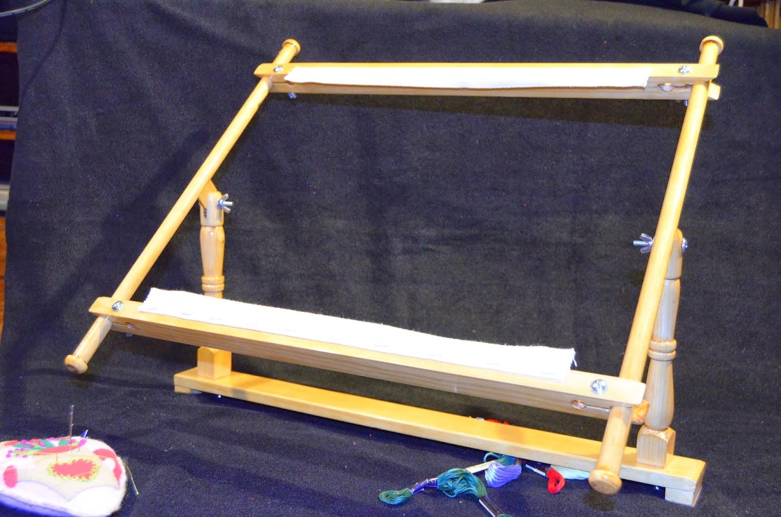 De madera hobby: Bastidor para bordar