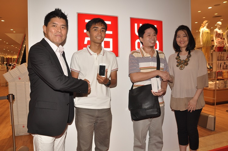 "Congratulations to UNIQLO's ""U-SHOP. U-WIN."" Winners"