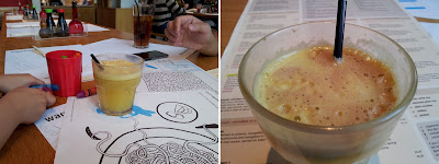 Wagamama, Japanese cuisine, children juice