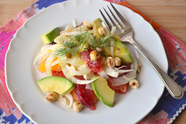 Blood Orange, Fennel, and Avocado Salad recipe