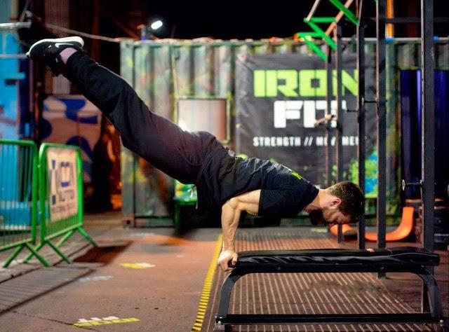 Jamie Dornan Workout routine