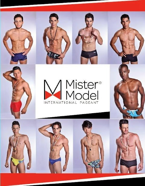 Candidatos a Mister Model International Pageant 2013