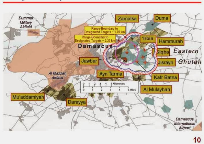 White House map showing areas controlled by the Syrian government