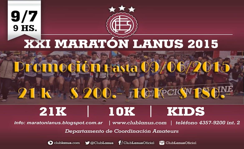 Maratón Ciudad de Lanus 2015