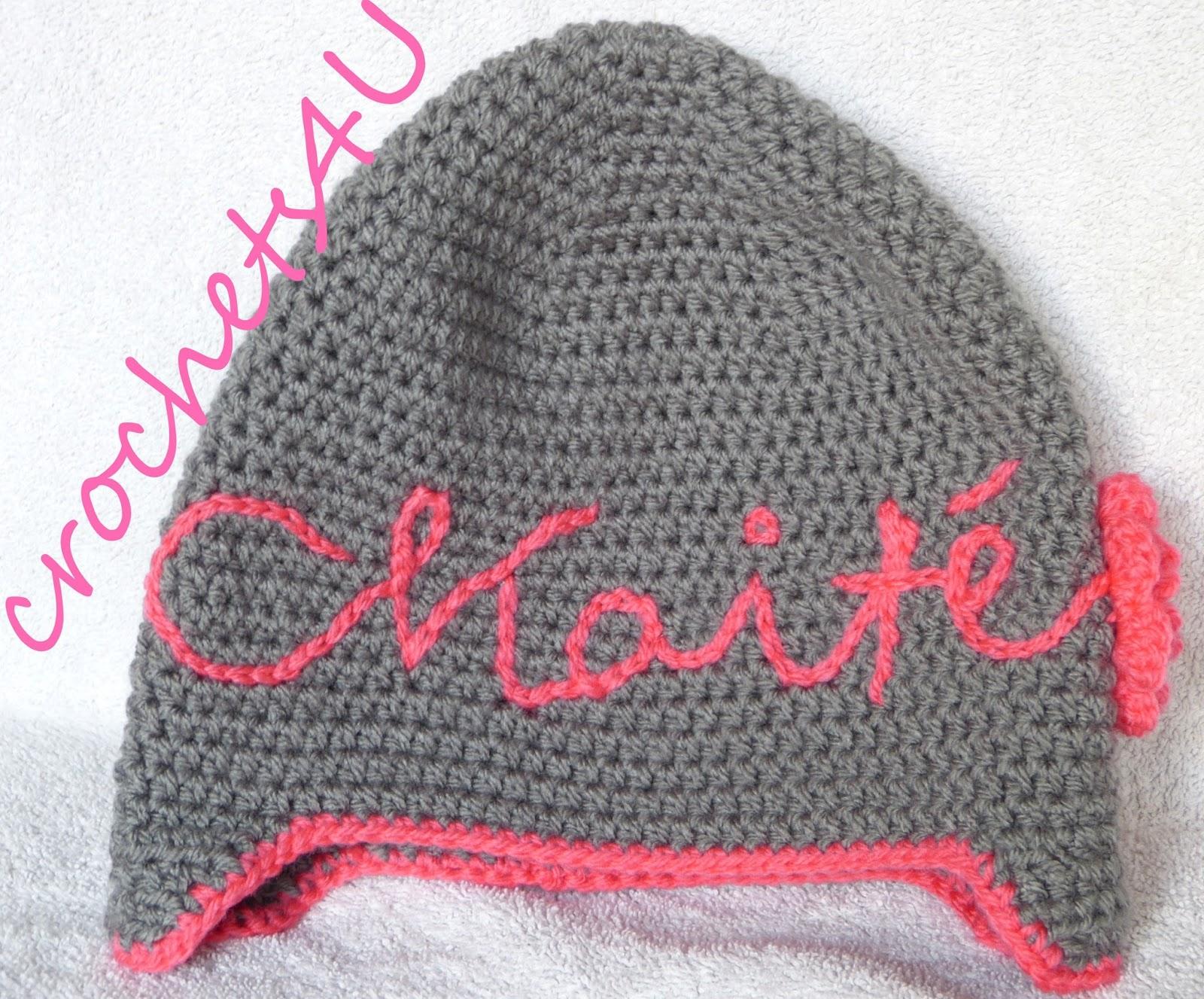 Crocheting Letters Into Blankets : Crochets4U: mutsen haken