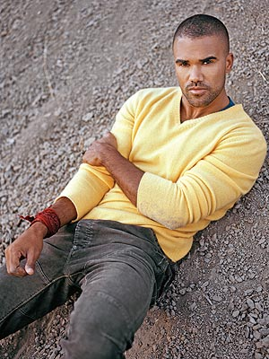 Shemar Moore buzz haircut with a fade - short hairstyle ideas for men