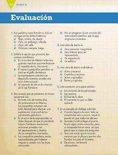 Apoyo Primaria Español 6to Grado Bloque III Evaluación