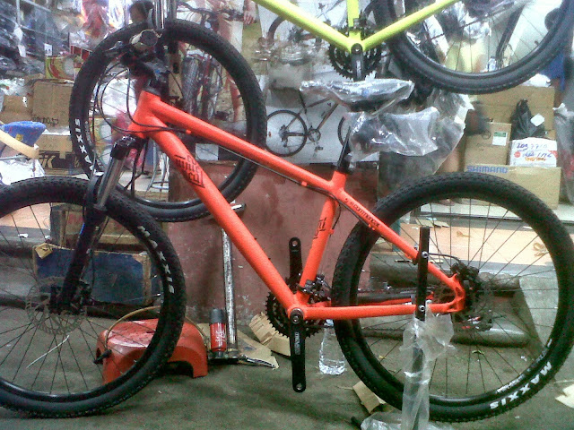 commencal elcamino red