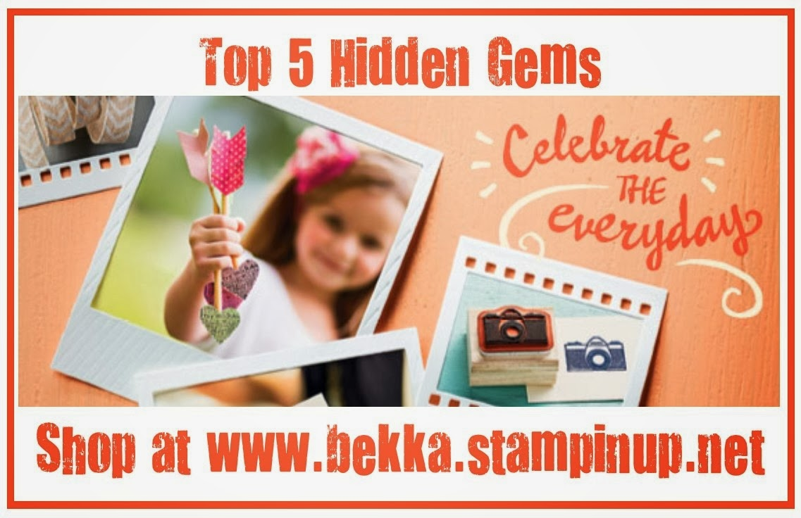Bekka's Top 5 Hidden Gems in the Stampin' Up! Spring Summer 2014 Catalogue