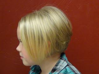 Gaya rambut anak perempuan trend 2015