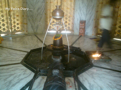 A shivlingam at the Raman Reti, Gokul-Mathura,Uttar Pradesh