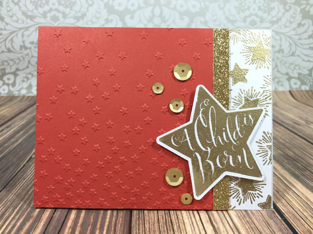Cricut Art Philosophy Christmas Star card