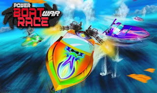 Screenshots of the Power boat War race 3D for Android tablet, phone.