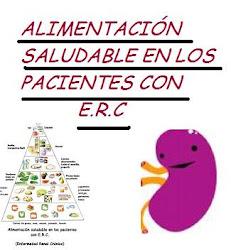 ALIMENTACIÓN SALUDABLE EN LOS PACIENTES CON E.R.C