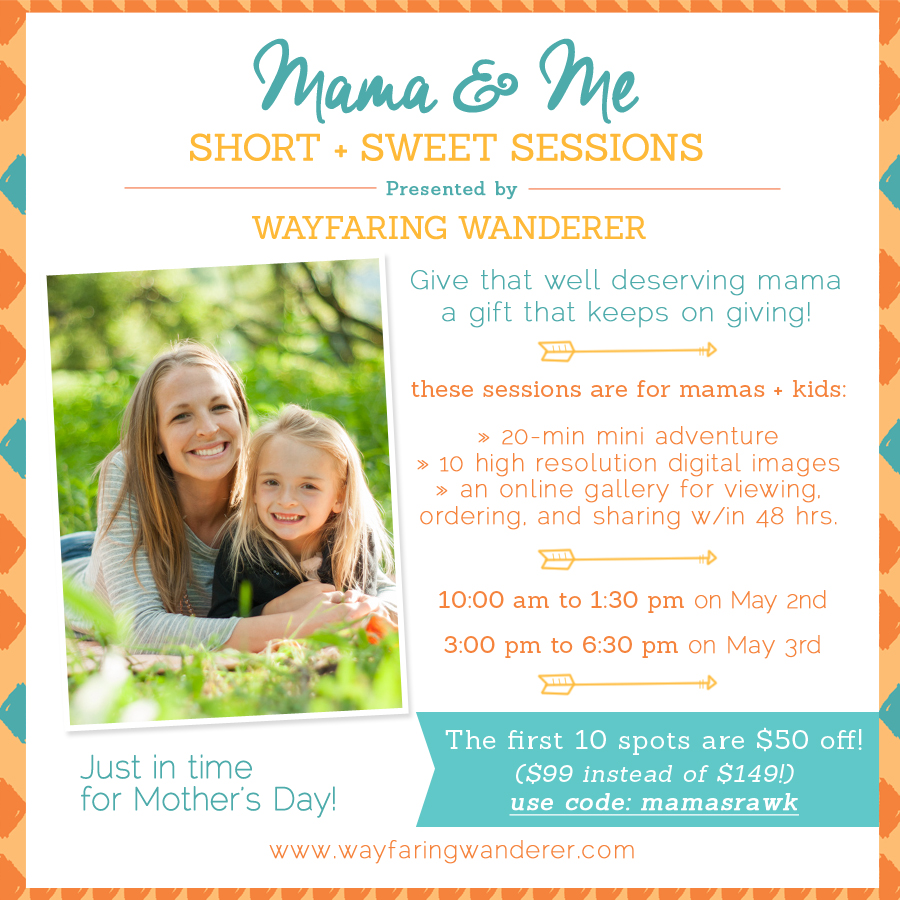 Mama & Me Short & Sweet Mini Sessions | Boone, NC Family Photographer