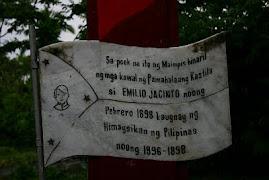 Jacinto marker, Magdalena, Laguna