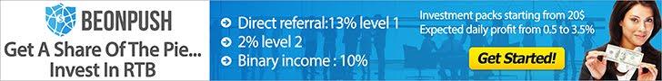 Đầu tư an toàn lợi nhuận cao 3% trên ngày với Beonpush việt nam