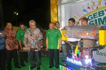 Hadiah Poin Undian Tabungan Seulanga Bank Aceh