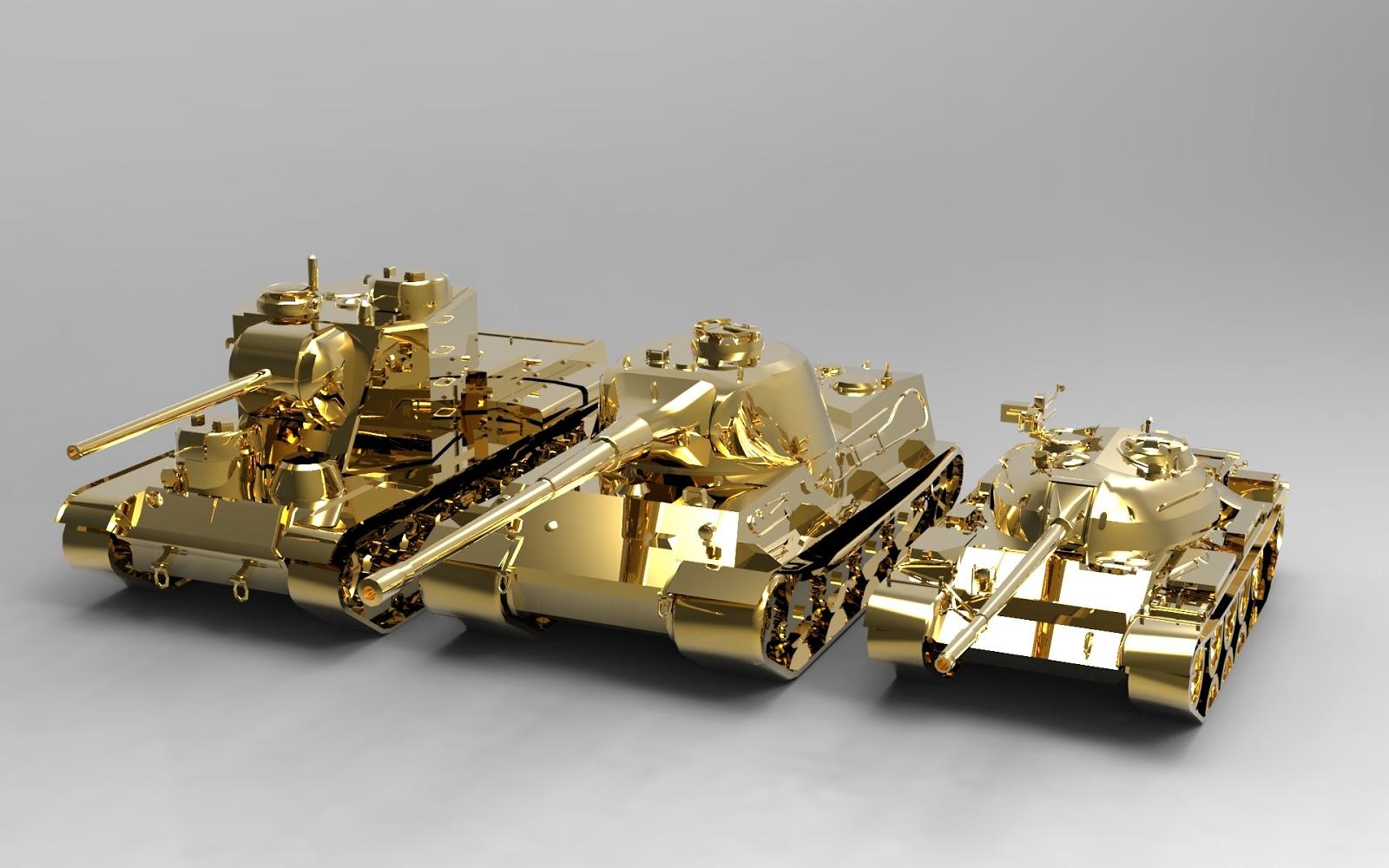 Продать танк за золото 16 фотография