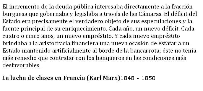 Hace más de 150 años que se escribió esto y es lo que nos está pasando.
